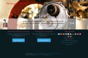 Sitio web Periscopio UNIMA
