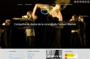 Sitio web Provisional Danza