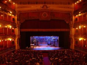 Función en el Teatro Arriaga de Bilbao